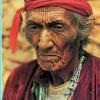 Homme Médecine... Un vieil indien Navajo